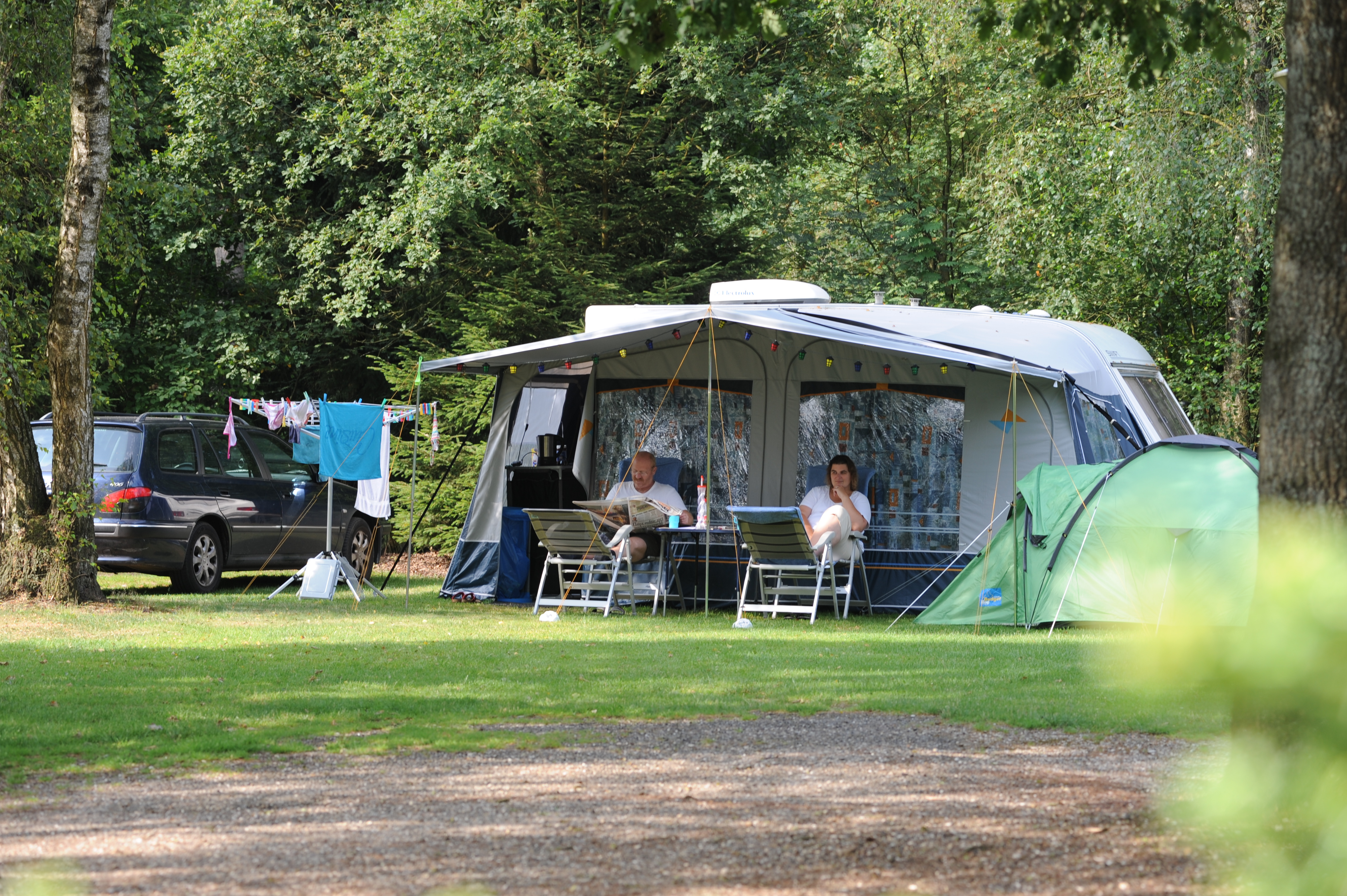 Rustige familie camping